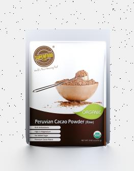 Organic Peruvian Cacao Powder (Raw) Low
