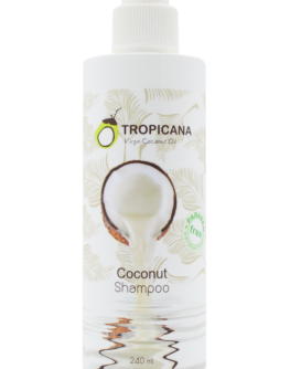 product shot - shampoo Coconut 240ml