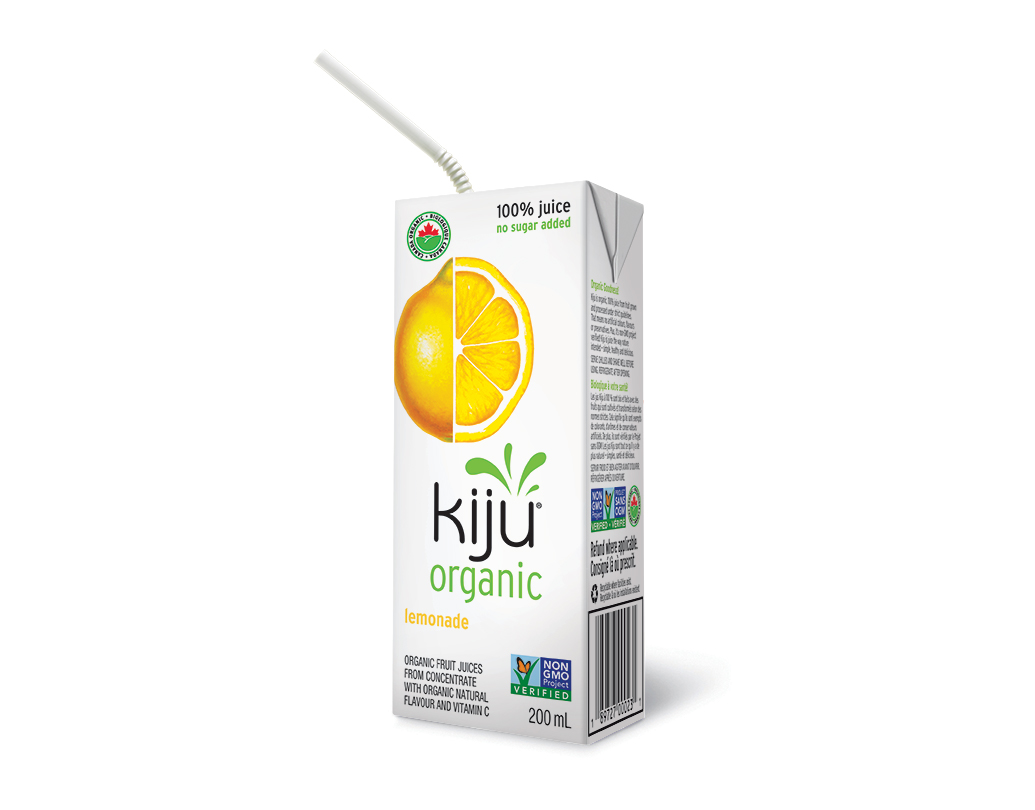 Kiju Organic Lemonade Juice 200ml X 4 S Sunshine Valley